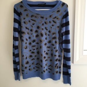 The Limited (M) blue sweater